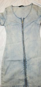Jean Zip dress